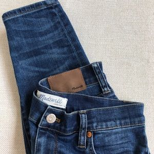Madewell High Riser Skinny Jeans 👖
